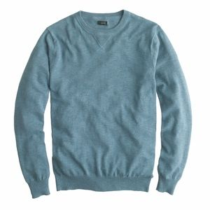 J.Crew Crew neck cotton sweater